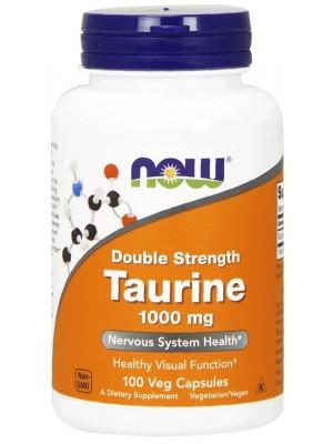 Отдельные аминокислоты NOW Taurine 1000 mg (100 капс.)