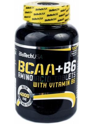 BCAA BioTech (USA) BCAA + B6 (100 таб.)