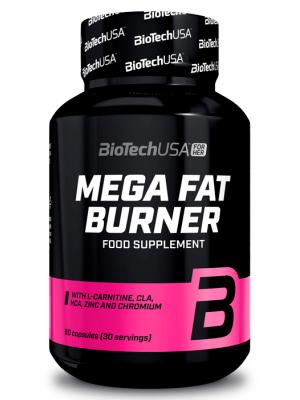 Жиросжигатели BioTech (USA) Mega Fat Burner (90 таб.)