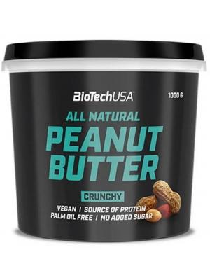 Арахисовая паста BioTech (USA) Peanut Butter Crunchy (1000 гр.)