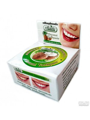 GreenHerb Coconut Toothpaste, (10 гр.)