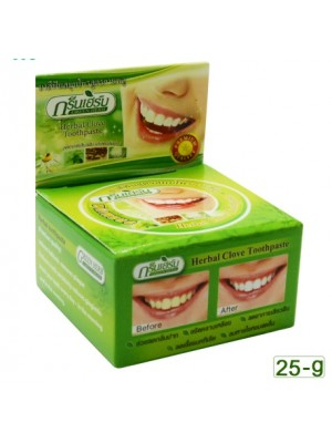 GreenHerb Herbal Toothpaste, (25 гр.)