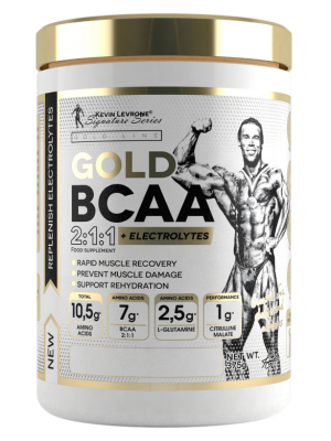 Kevin Levrone Gold BCAA 2:1:1 + Electrolytes  (375 гр.)