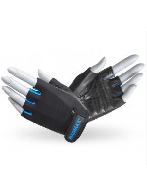 Перчатки Mad Max Rainbow MFG 251 (Черный-Голубой)