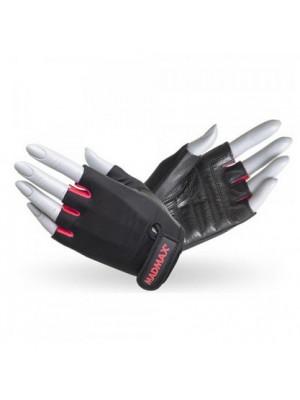 Перчатки Перчатки Mad Max Rainbow MFG 251 (Черный-Красный)