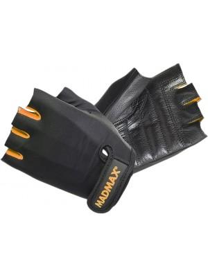 Перчатки Mad Max Rainbow MFG 251 (Черный-Оранжевый)