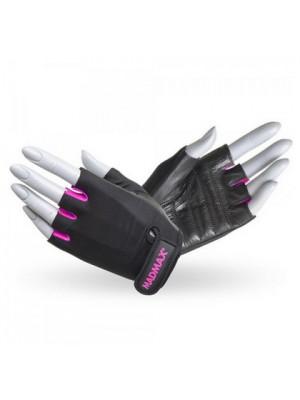 Перчатки Перчатки Mad Max Rainbow MFG 251 (Черный-Розовый)