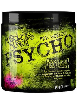 Предтренировочные комплексы Muscle Junkie Psycho (240 гр.)
