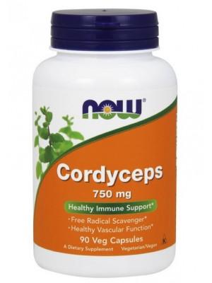 Биологически активные добавки NOW Cordyceps 750 mg (90 капс.)