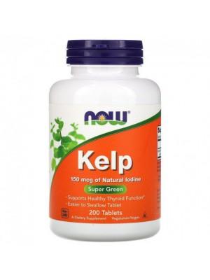 NOW Kelp 150mcg (200 таб.)