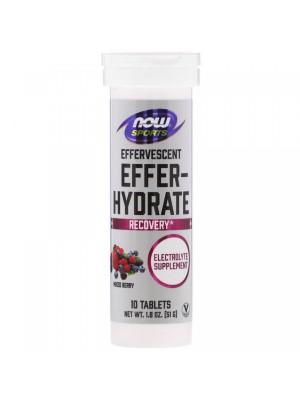 Изотоники Now Sports Effer-Hydrate (10 таб.)
