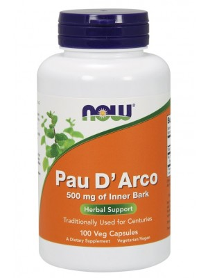 NOW Pau D'Arco 500 mg (100 капс.)