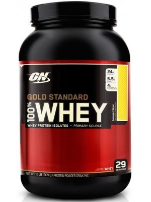 Сывороточный протеин Optimum Nutrition Gold Standard 100% Whey Protein (909 гр.)
