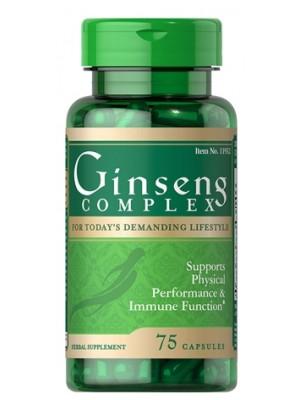 Биологически активные добавки Puritan's Pride Ginseng Complex (75 капс.)