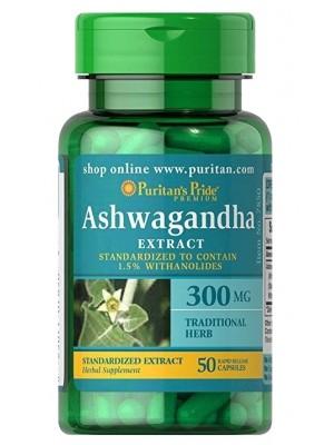 Puritan's Pride Ashwagandha 300 mg (50 капс.)