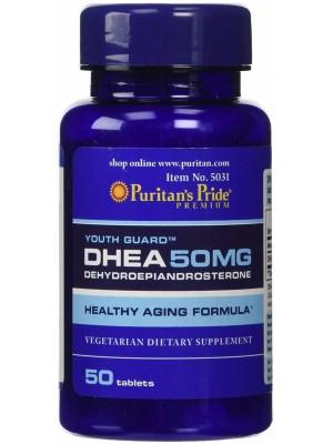 Puritan's Pride DHEA 50 mg (50 таб.)