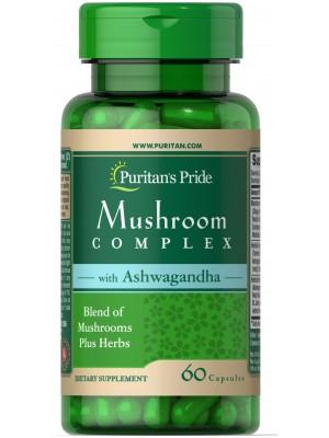 Puritan's Pride Mushroom Complex (60 капс.)