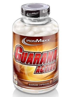 Кофеин IronMaxx Guarana Active (100 капс.)