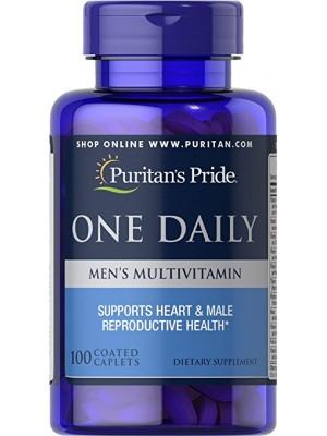 Puritan's Pride One Daily Men's Multivitamin (100 капс.)