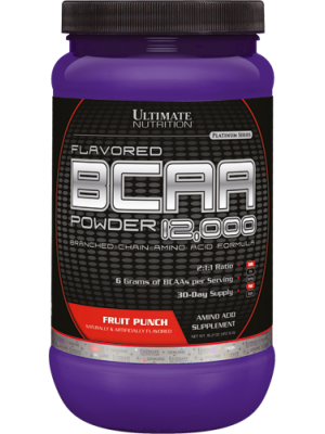 Ultimate Nutrition BCAA 12000 (400 гр.)