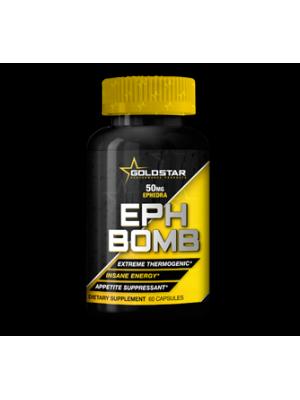 Жиросжигатели Gold Star EPH Bomb 50 mg (60 капс.)